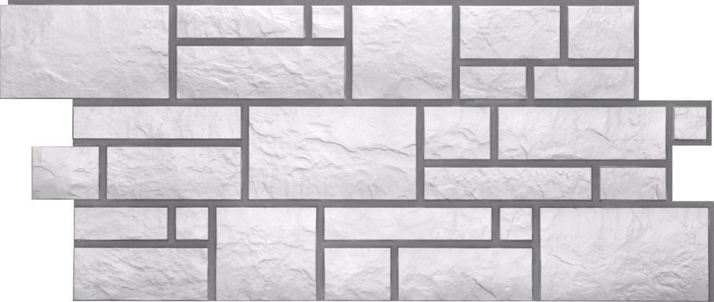 Фасадные панели BURG Дёке Платиновый 946x445 мм (0,42 м2)