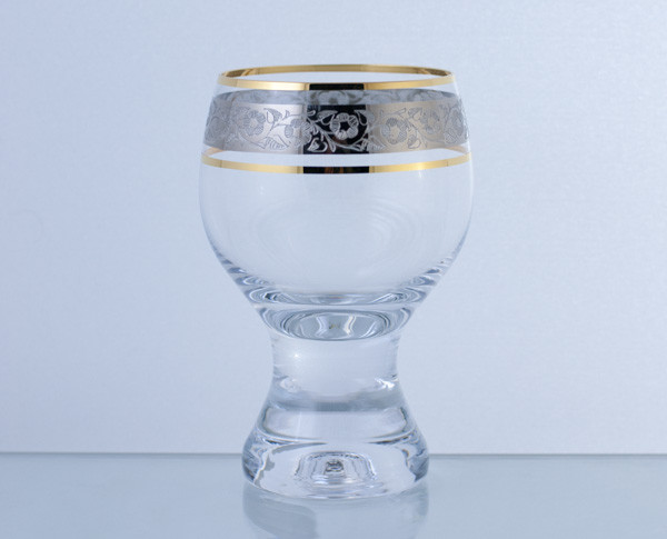 Бокал Gina 230мл. вино 6шт. Богемское стекло, Чехия 40159-43249-230. Алматы