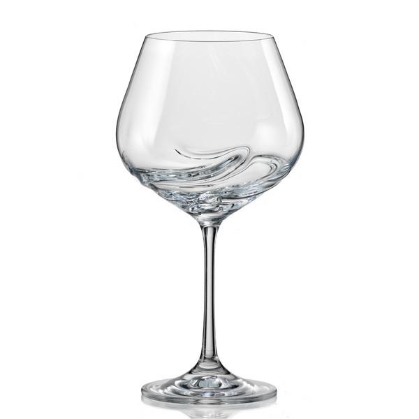 Бокалы Turbulence вино 570мл. 2шт. Богемское стекло, Чехия 40774--570. Алматы