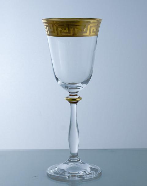 Фужеры Angela 185мл вино 40600-d33-185. Алматы