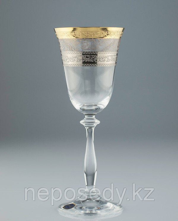 Фужеры Angela 185мл вино 6шт 40600-porcelan-185. Алматы