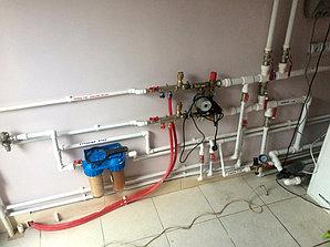Монтаж системы отопления с установкой емкости , объект - поселок Иссык 5