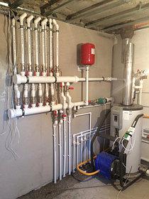 Монтаж системы отопления в котельной, объект - Каменское плато  2