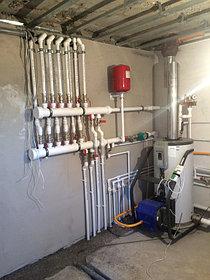 Монтаж системы отопления в котельной, объект - Каменское плато  3