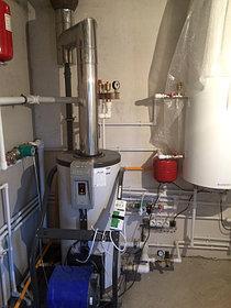 Монтаж системы отопления в котельной, объект - Каменское плато  4