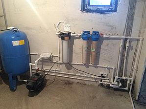 Монтаж системы отопления в котельной, объект - Каменское плато  6