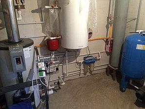 Монтаж системы отопления в котельной, объект - Каменское плато  7