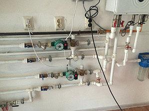 Монтаж системы отопления холодной/горячей воды в административном здании 6