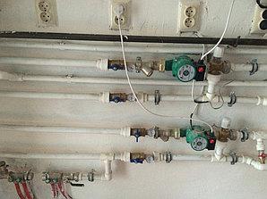 Монтаж системы отопления холодной/горячей воды в административном здании 7