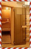 Стеклянные двери для сауны и бани, фото 1