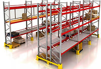 Фронтальные паллетные стеллажи для склада