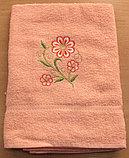 Банный женский набор: халат и два полотенца, фото 3