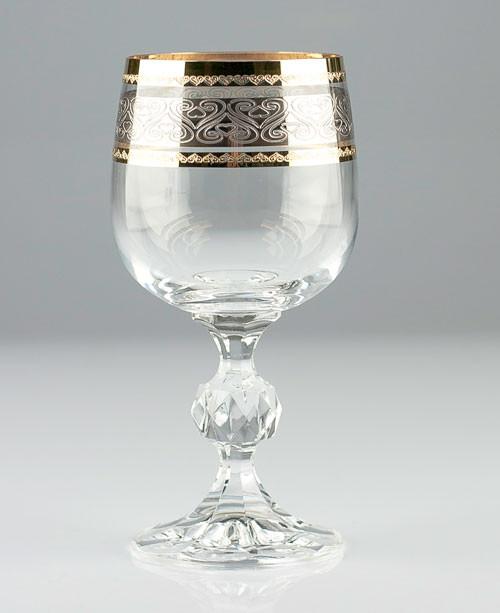 Фужеры Claudia 190мл вино 6шт. богемское стекло, Чехия 40149-432128-190. Алматы