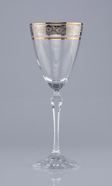 Фужеры Elisabeth вино 190мл. 6шт богемское стекло, Чехия 40760-43249-190. Алматы