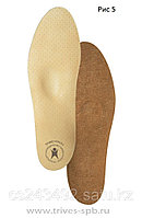 Стельки ортопедические для закрытой обуви на каблуке до 5 см, жен.