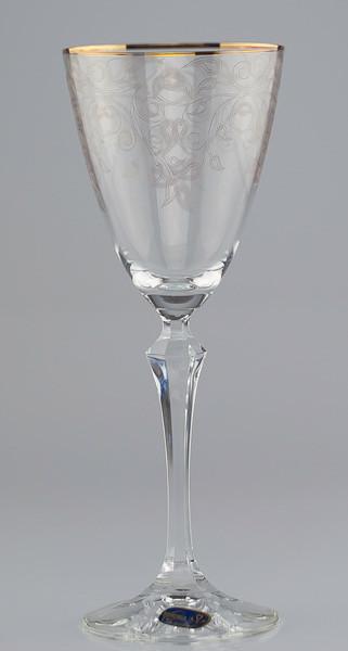 Фужеры Elisabeth вино 250мл. 6шт богемское стекло, Чехия 40760-Q8085-350. Алматы