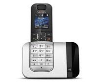 Телефон беспроводной Texet TX-D7605A черный-серебро