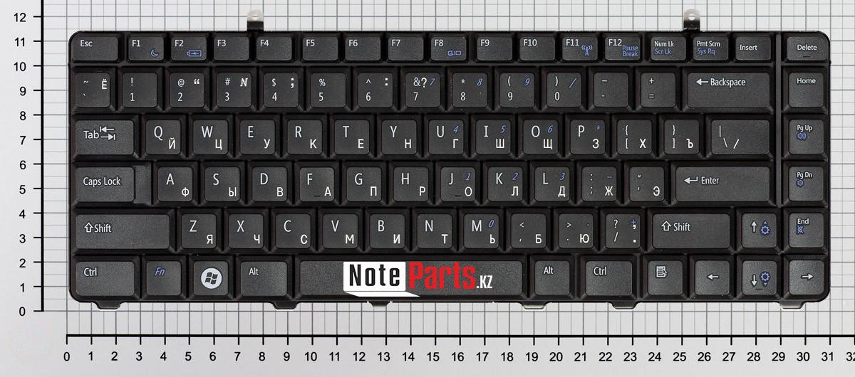 Клавиатура для ноутбука Dell A840, A860, 1014