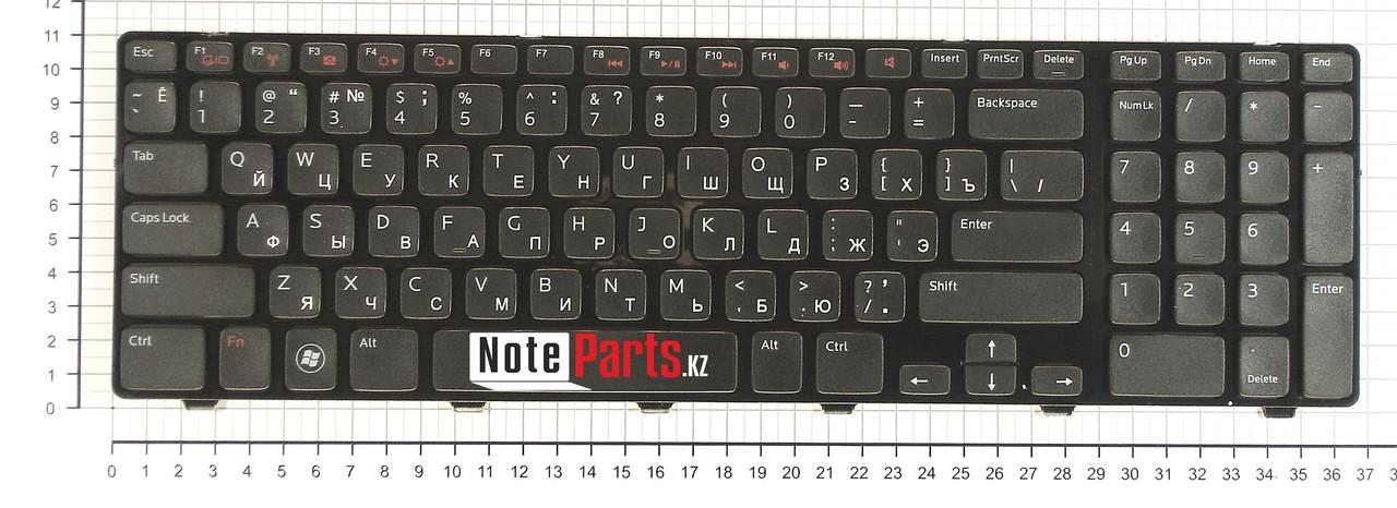 Клавиатура для ноутбука Dell Inspiron 17R N7110, RU, черная