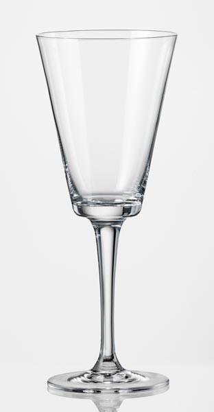 Фужеры Jive вино 280мл. 6шт. Богемское стекло, Чехия 40771-280. Алматы