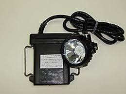 Фонарь аккумуляторный шахтерский
