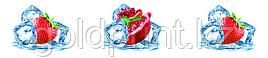 Кухонный фартук УФ  Лед и фрукты