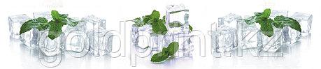 Кухонный фартук УФ  Лед и мята, фото 2