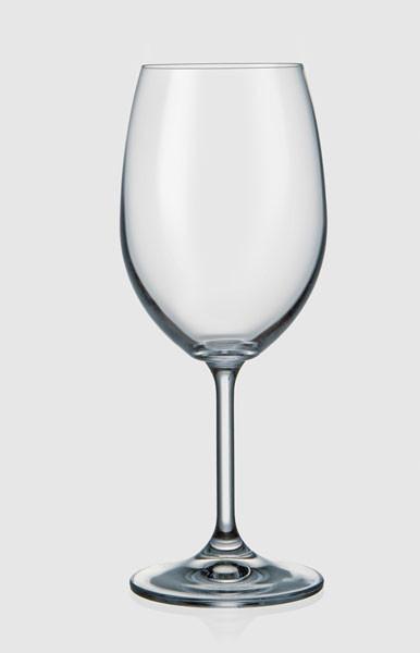 Фужеры Laura 450мл вино 6шт. богемское стекло, Чехия 40415--450. Алматы