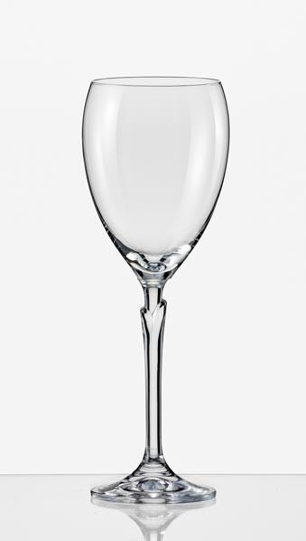 Фужеры Lilly 250мл вино 6шт. Богемское стекло, Чехия 40768--250. Алматы
