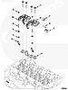 Коромысло впускного клапана на двигатель Cummins ISF2.8 5271540 5267689, фото 6