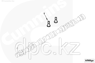 Толкатель клапана Cummins ISB ISD QSB ISF3.8 3947759 4891226