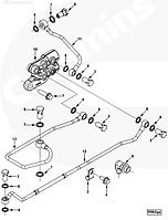 Шайба уплотнительная болта-штуцера топливной системы Cummins ISF3.8 ISLe 3963988 3937155 3935172
