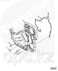 Прокладка картера распределительных шестерен Cummins ISC ISL 3944293