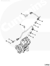 Навесное оборудование, компрессор, модуль, датчики, стартеры, генераторы Cummins ISF 3.8L