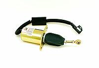 Клапан отсечки топлива (Соленоид) 24V Cummins ISLe 6СT8.3 QSC ISC 3977620