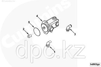 Кольцо компрессора, насоса ГУРа (установочное, ф 80х3х3 мм) Cummins EQB210-20 B5.9-180 EQB-180 3913845