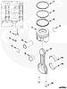 Поршень двигателя Cummins ISF 2,8L 4995266 4309425 для Газели-Бизнес, фото 6