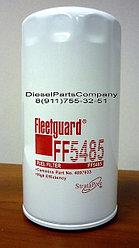 Фильтр топливный Fleetguard двигателя Cummins 3.9L ISBe FF5485 Флитгард 4897833 3978040 12108-910208
