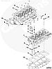 Прокладка головки блока цилиндров ( ГБЦ ) Cummins ISF 2.8L 5257187 5345647, фото 2
