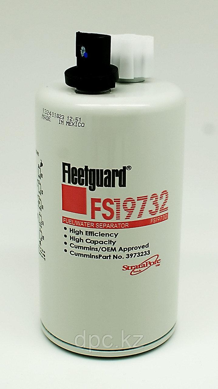 Фильтр топливный Cummins ISF 3,8 ISBe (с датчиком) Fleetguard FS19732