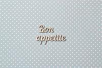 Чипборд Bon appetite