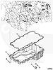 Прокладка поддона (картера) масляного Cummins ISF 2.8L 4980644, фото 3