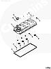 Прокладка клапанной крышки Cummins ISF2.8 5255312, фото 2