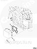 Прокладка маслоохладителя / теплообменника масла Cummins ISF2.8 5262903, фото 2