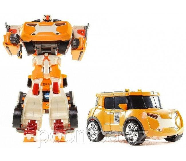 Трансформер Tobot Evolution X, с наклейками и ключом-токеном