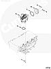Коннектор выпускной системы ЕГР Cummins Евро 3 ISF 2.8 5290283, фото 4