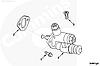 Топливный насос низкого давления (ТННД) Cummins 6CT 4988747 3415661, фото 6