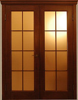 Межкомнатные двери двустворчатые