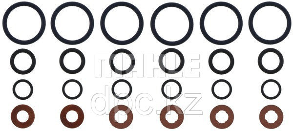 Уплотнительные кольца форсунок Victor Reinz GS33484 для двигателя Cummins 3937142 4890926 3906659 3920174