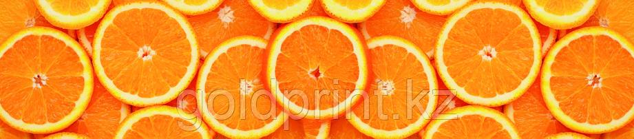 Кухонный фартук УФ  Апельсины , фото 2